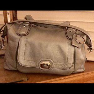 Coach Bags - Silver coach bag